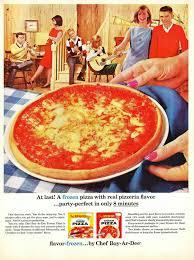 publicidad pizza vintage