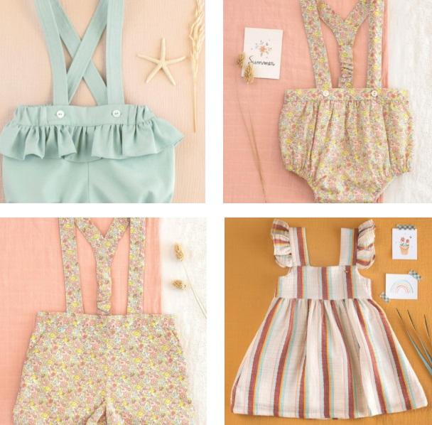 ropa vintage infantil
