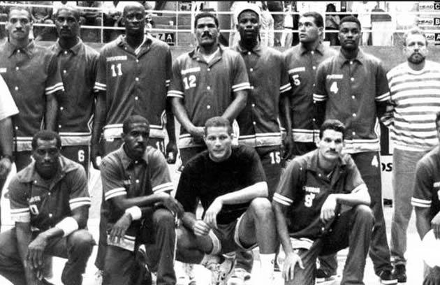 venezuela basket 1992