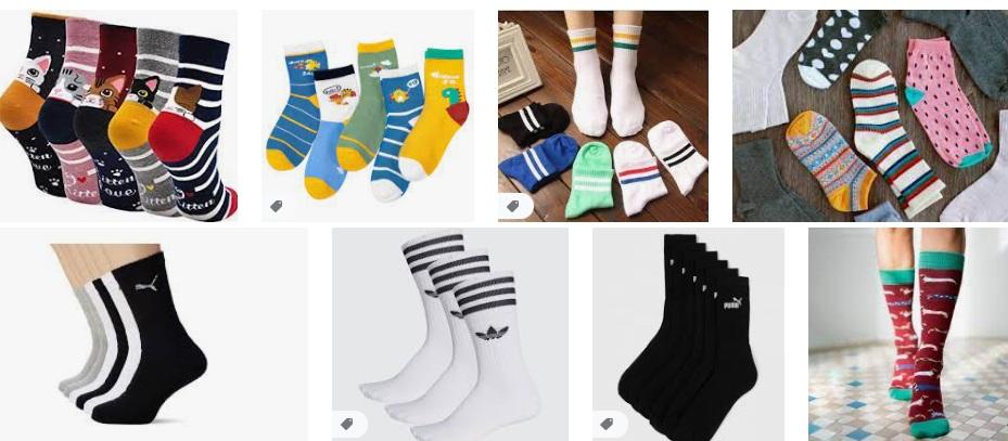 calcetines vintage