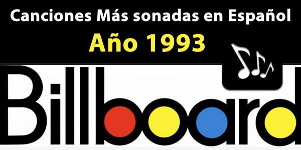 canciones más sonadas español 1993