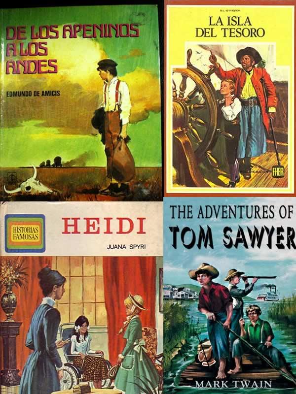 dibujos animados inspirados en libros